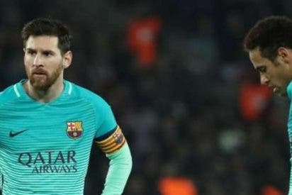 ¡Arde el Barça! La puñalada por la espalda de Messi a Neymar