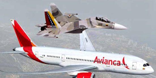 [VÍDEO] ¡Alerta! Así acosan los aviones de guerra chavistas a las aeronaves privadas