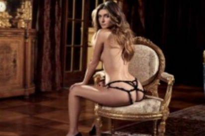 Con esta modelo de infarto vuelven los desnudos a la revista Playboy