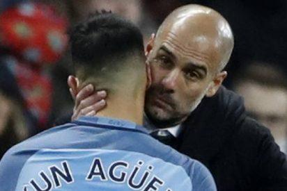 """Kun Agüero: """"No quiero irme del Manchester City, pero veremos qué quiere hacer el club conmigo"""""""