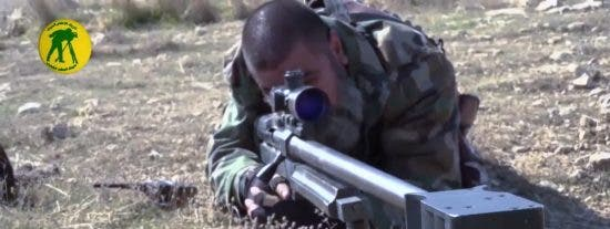 El vídeo del francotirador sesentón que se ha cargado a 321 terroristas de ISIS con balas gigantes