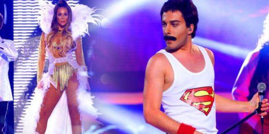 Blas Cantó, alias 'Freddie Mercury, se consagra en 'Tu cara me suena'