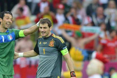 Casillas - Buffon en el Oporto - Juventus