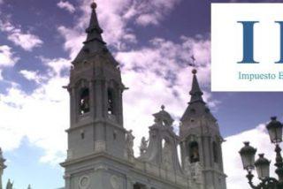 El Congreso acuerda suprimir la casilla de la Iglesia en el IRPF y que pague el IBI