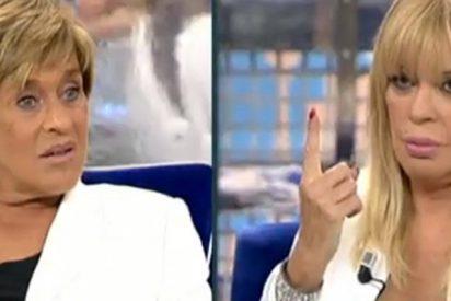 Bárbara Rey le escupe un recital de reproches a Chelo García Cortés