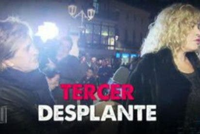 Chelo García Cortes rompe a llorar histérica ante el brutal rechazo en directo de Bárbara Rey