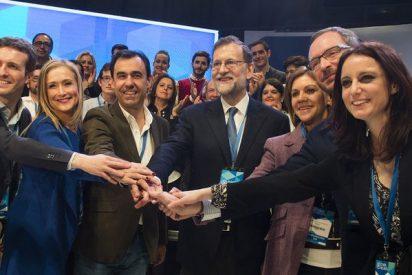 Mariano Rajoy manda mucho y el PP se limita a pasar el trámite y sacar 'paquete'