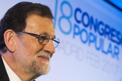 Mariano Rajoy deja claro que está harto de que intenten hacerle elegir entre Soraya y Cospedal
