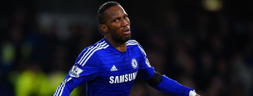 Drogba volvería al Chelsea, pero no como jugador