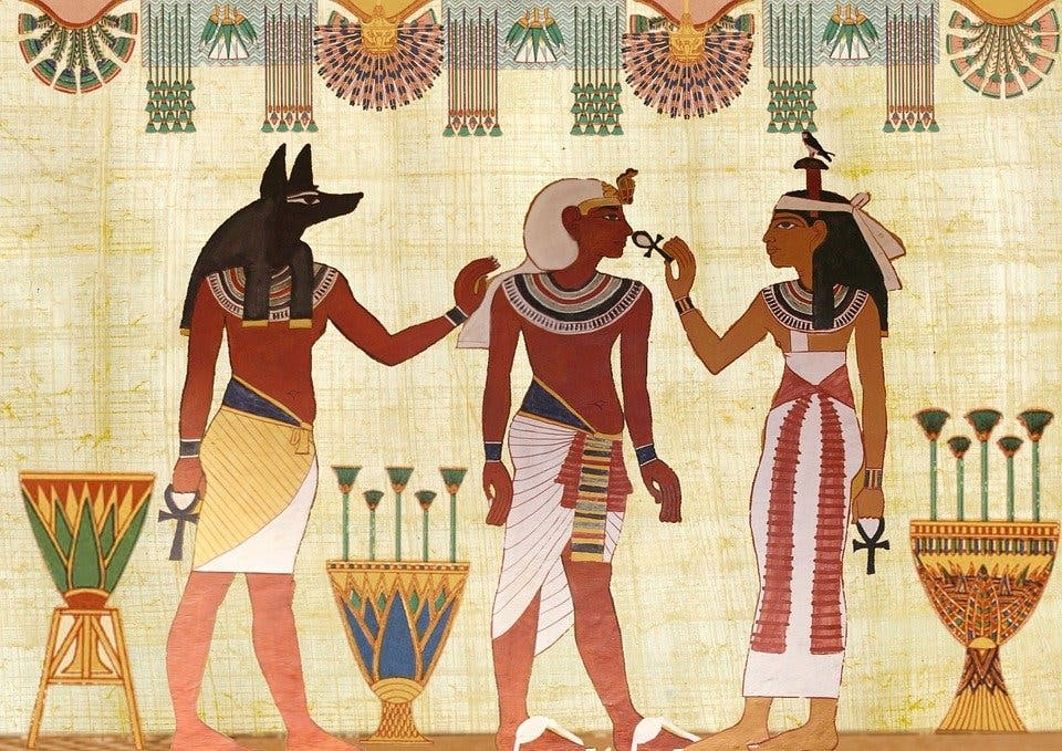perfumes antiguo Egipto