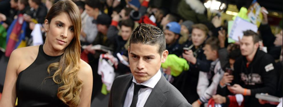 El amor secreto de James Rodríguez que pone de los nervios a Daniela Ospina