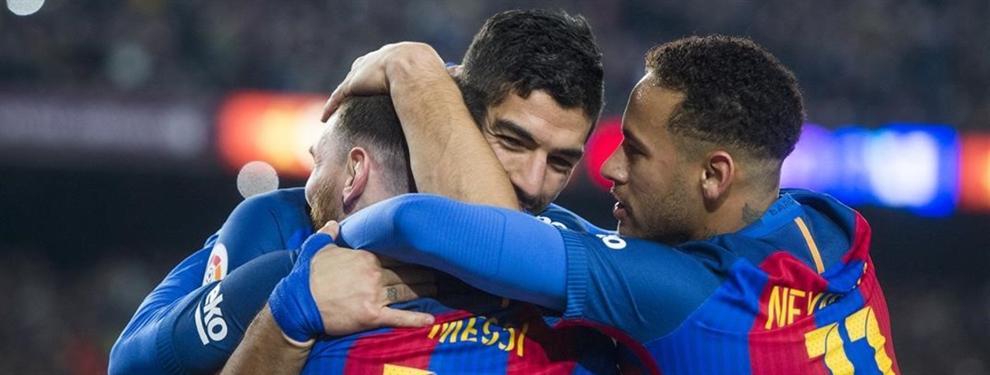 El ataque de celos que tiene Neymar por la amistad entre Messi y Suárez