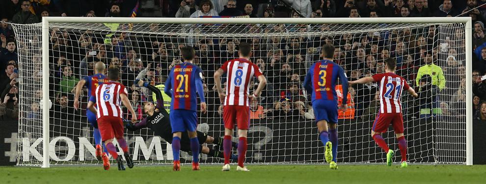 El Barcelona clasifica a la final de la Copa del Rey