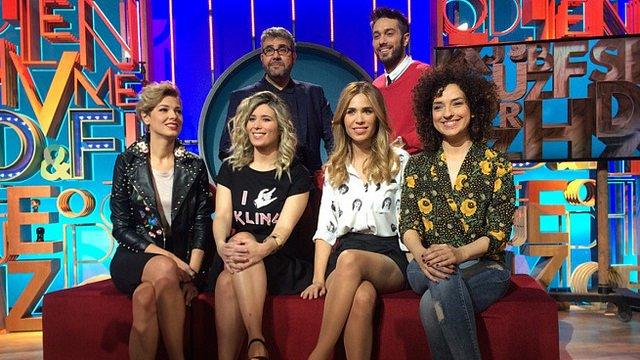 Cristina Boscá, María Gómez, Cristina Urgel y Virginia Riezu, las compañeras de equipo de 'Dani&Flo'