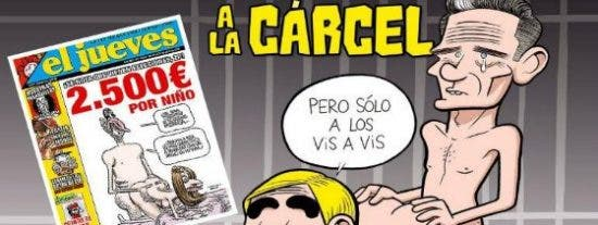 'El Jueves' va de culo: reproduce con Cristina y Urdangarin su portada secuestrada de Felipe y Letizia