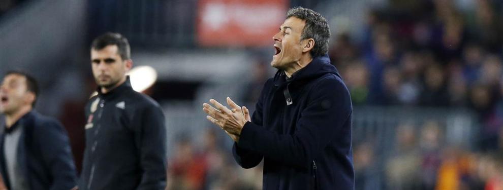 El jugador del Barça que se planta ante Luis Enrique
