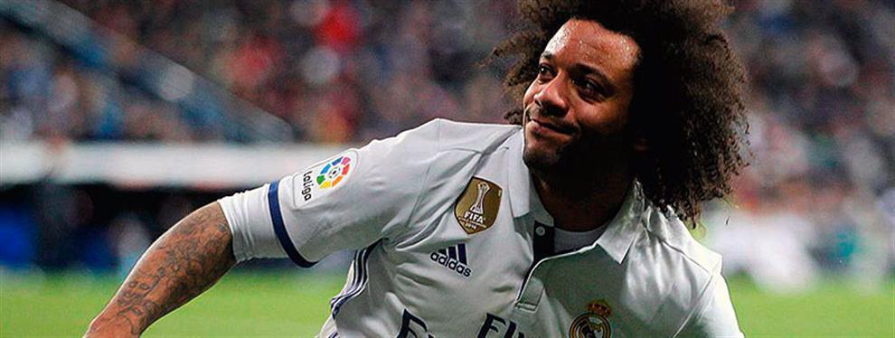 El Madrid va a la 'guerra' con dos grandes de Europa por el 'nuevo Marcelo'