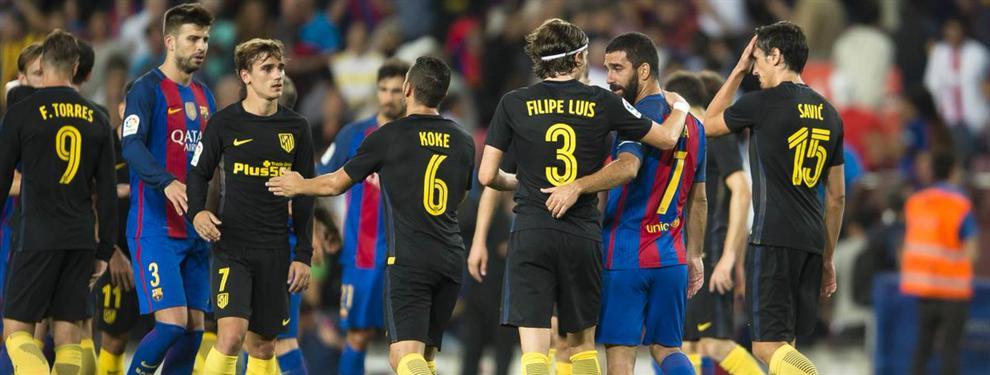 El mensaje en el vestuario del Atlético apuntando directo al Barça