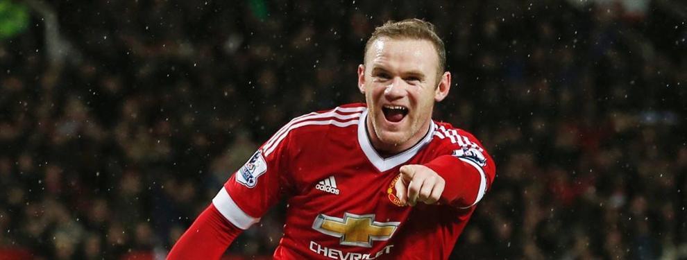 El 'palazo' de Wayne Rooney a Leo Messi ¡No te lo vas a creer!