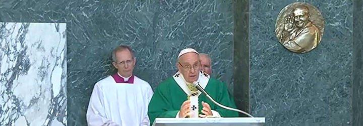 """Francisco: """"Nada de venganza ni de rencor. El 'me la pagarás' no forma parte del lenguaje de un cristiano"""""""