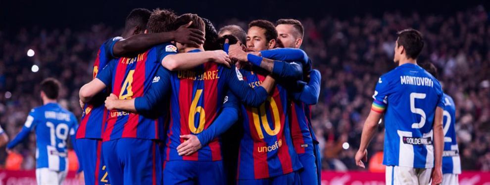 El relevo de Luis Enrique que mete medio en el vestuario del Barça