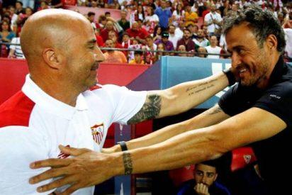 El último ?palo? del vestuario del Barça a Luis Enrique (con Sampaoli en medio)