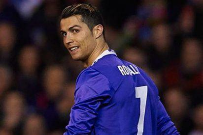 El vídeo (que no has visto) de la bronca de Cristiano Ronaldo en Mestalla