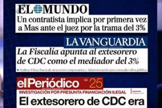 """Artur Mas carga contra El Mundo pero Ana Pastor le da un bofetón de realidad: """"También te señalan La Vanguardia y el Ara"""""""