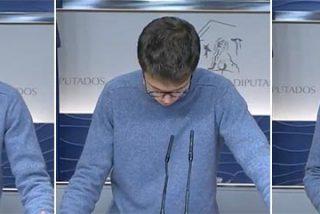 El perdedor de Vistalegre aparece ante la prensa en formato cierre y despedida