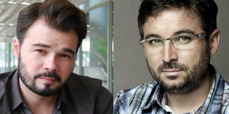 """Jordi Évole se cachondea de los """"incompetentes"""", Gabriel Rufián se da por aludido y se lleva un zasca monumental"""