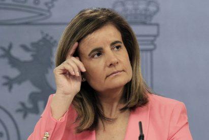 Fátima Báñez: El gasto en pensiones crece en España un 3% en febrero de 2017