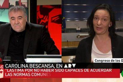 """El divertido desliz de Ferreras con Bescansa: """"¿Seguirá en el Grupo Socialista?"""""""