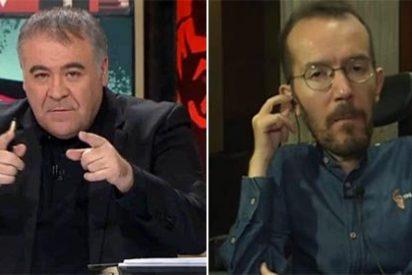 Ferreras frena en seco a 'Echeminga' por culpar a los medios del psicodrama de Podemos