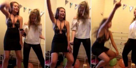 El vídeo de la joven que se rompe la 'junta de culata' bailando fatal