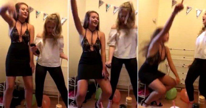 Que Culata' El Se Joven Vídeo 'junta Rompe Bailando La De KclJ3TF1