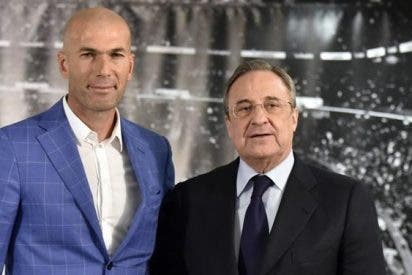 Florentino Pérez comunica a Zidane la salida de un peso pesado del Madrid