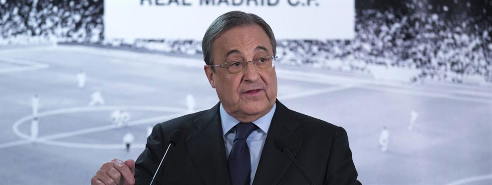 Florentino Pérez suelta una bomba increíble sobre un crack del Real Madrid