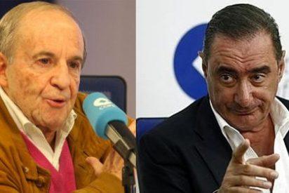 """La puñalada de José María García a Carlos Herrera: """"Tenía dudas de que estuvieses en Madrid, eras capaz de haber hecho el programa en Sevilla"""""""
