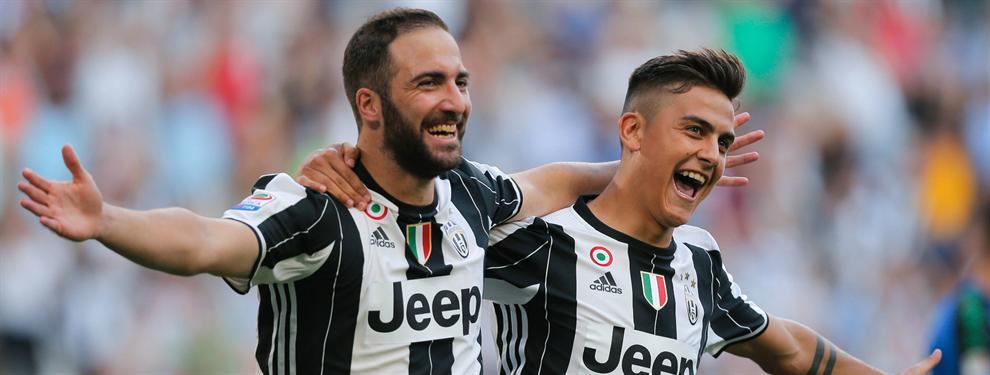 Gonzalo Higuaín puede provocar la salida de Paulo Dybala de Juventus