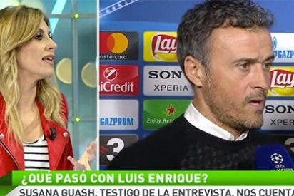 """Susana Guasch desvela la doctrina del miedo en TV3: """"Contaron el incidente con Luis Enrique y luego les obligaron a desmentirlo"""""""