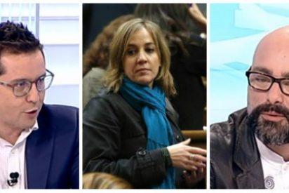 """El 'esbirro' de Rafael Correa se la lleva en TVE: """"¿Camaradería en Podemos? ¿También con Tania?"""""""