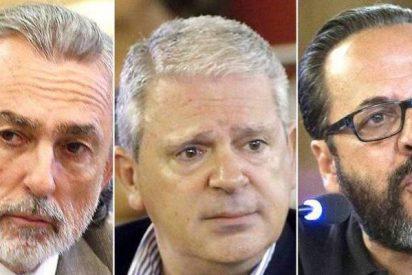 El TSJ de Valencia manda 'ipso facto' a prisión a 'Don Vito' Correa, Pérez y 'El Bigotes'