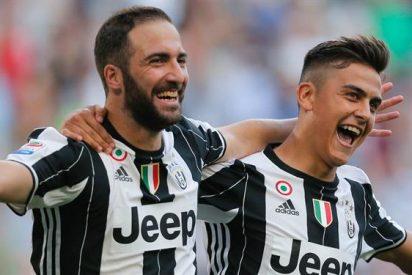 Higuaín puede provocar la salida de Dybala de la Juventus