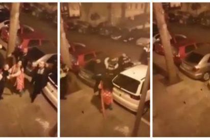 """No es el Bronx, es Hospitalet: """"¡Mata a ese hijo puta de policía!"""""""