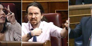 La línea radical de Podemos ya se hace notar: trifulca barriobajera en el Congreso