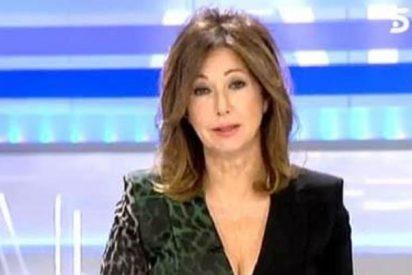 """Ana Rosa Quintana: """"A mí me da palmaditas en la cara Maradona y le suelto un puñetazo"""""""