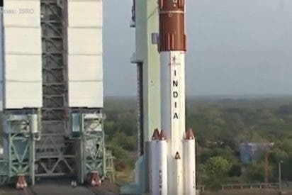 Histórico: India lanza 104 satélites en una sola misión
