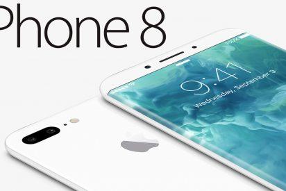 El increíble iPhone 8 que podría eliminar todos sus botones físicos y... alcanzar los 1.000 euros