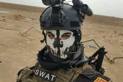 El despiadado linchamiento del suicida de ISIS por las Fuerzas de Reacción Rápida