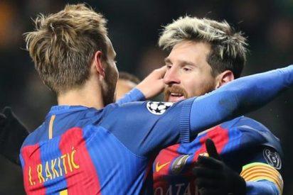 Ivan Rakitic guarda un secreto de Leo Messi